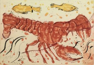 Graphic Studio Dublin • John Behan: Lobster, John Behan