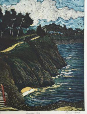 Graphic Studio Dublin •Pamela Leonard: Winding Path, Pamela Leonard