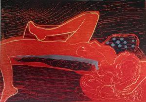 Graphic Studio Dublin •Jenny Lane: Insomnia, Jenny Lane