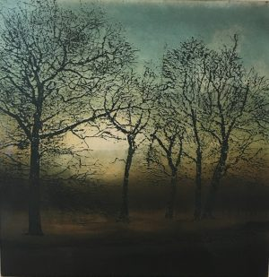 Graphic Studio Dublin •Robert Russell: Morning Walk, Robert Russel