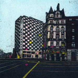 Graphic Studio Dublin •Vaida Varnagiene: Vaida Varnagiene_Two board avenue_Westmoreland