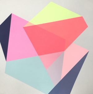 Graphic Studio Dublin • Frea Buckler: Graphic Studio Dublin: Circles 5 (SOLD)