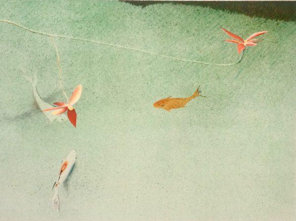 Graphic Studio Dublin: James McCreary, Three Fish