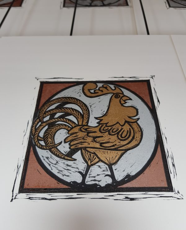 Graphic Studio Dublin: Linoprint Weekend Workshop: 12th & 13th September 2020 SOLD OUT