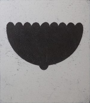Graphic Studio Dublin • Charles Tyrrell: C Pose, Etching, 1997, Edition of 30, 354x305mm.
