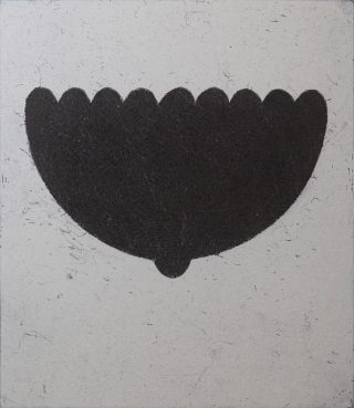 C Pose, Etching, 1997, Edition of 30, 354x305mm.