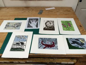 Graphic Studio Dublin: Linoprint Weekend Workshop: 16th & 17th May 2020