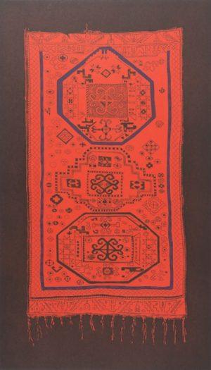 Graphic Studio Dublin •Merijean Morrissey: Merijean MOrrisey, Magic Carpet Ruby