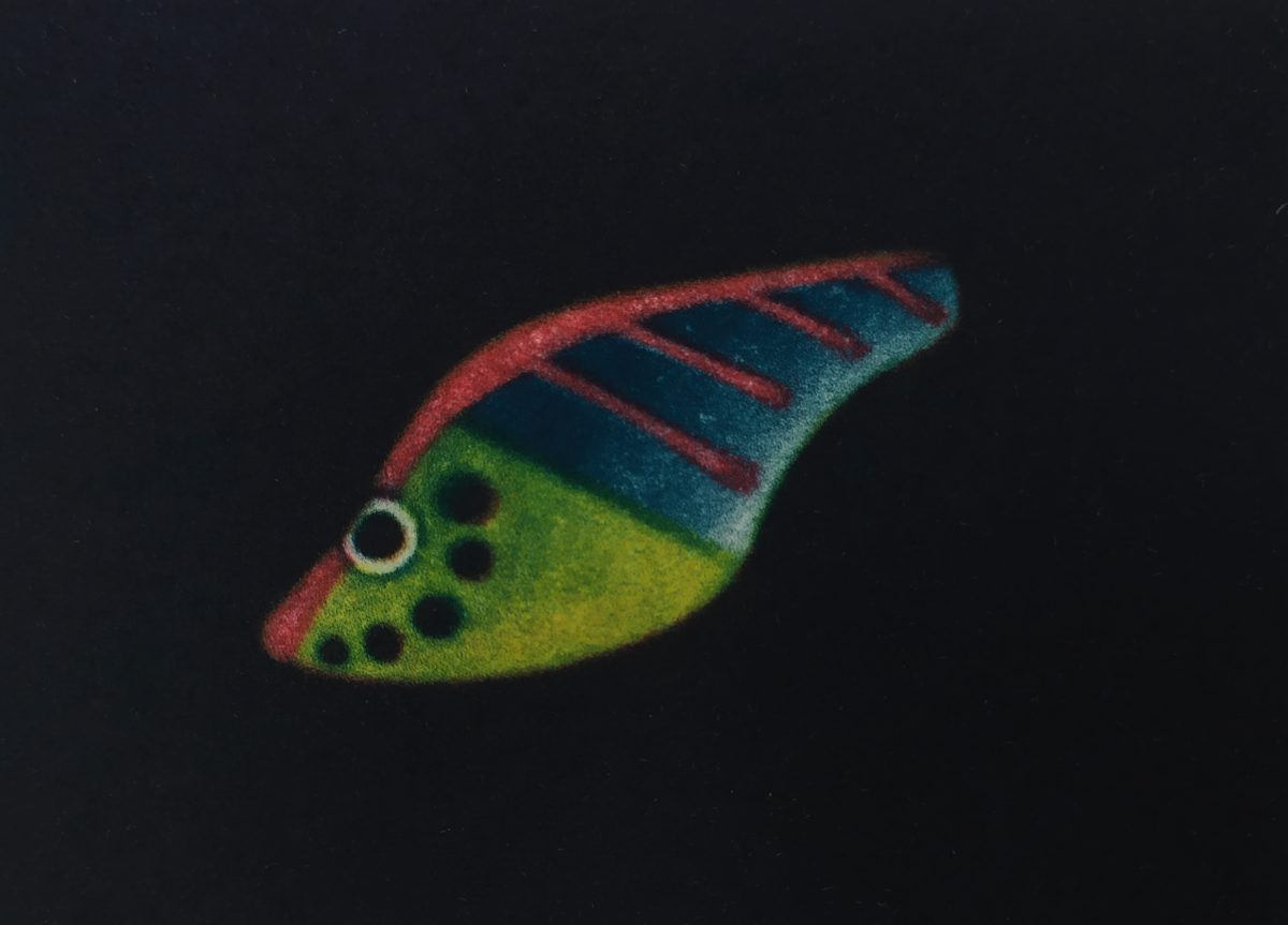 James McCreary, Striped and spotted lure