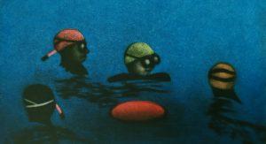 Graphic Studio Dublin •James McCreary: Swimming in Portlligat