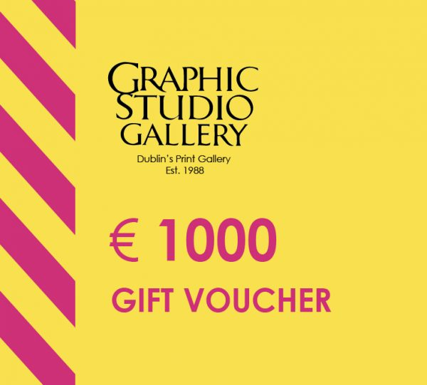 € 1000 gift voucher graphic studio gallery