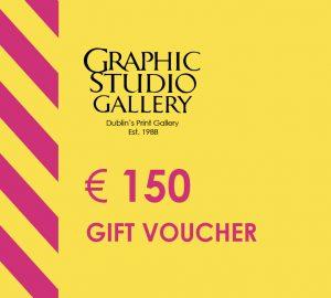 € 150 gift voucher graphic studio gallery