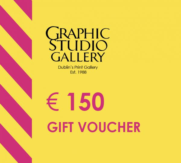 € 150 gift voucher graphic studio gallery
