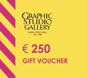 € 250 gift voucher graphic studio gallery
