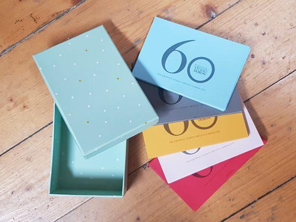 Graphic Studio Dublin: CARDALOG 60 years of GSD-2020, Yellow Pack