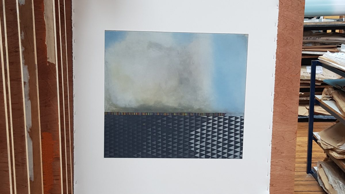 A result of Gillian Lawlor's residency at Graphic Studio Dublin