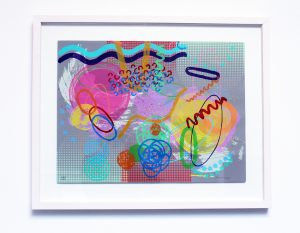Graphic Studio Dublin • Des Kenny: InfinitySeries_388.00_Framed