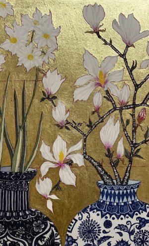 Graphic Studio Dublin •Jean Bardon: Paperwhites and Magnolia copy