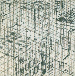 Graphic Studio Dublin •Ann Kavanagh: Ann Kavanagh_Urban Rooftop_ Green etch