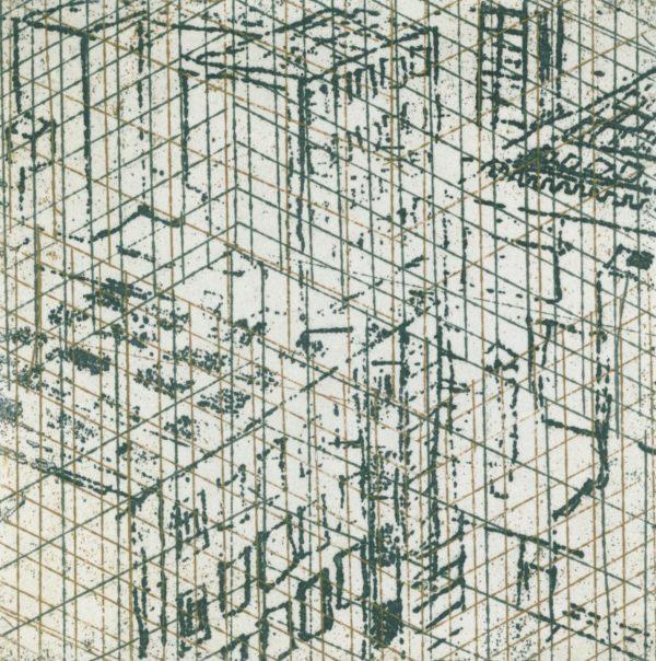 Ann Kavanagh_Urban Rooftop_ Green etch