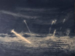 Clare Henderson_Ghost Lights_etching