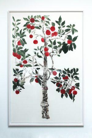 Graphic Studio Dublin •Cliona Doyle: Cliona Doyle_AppleTree.LOPF