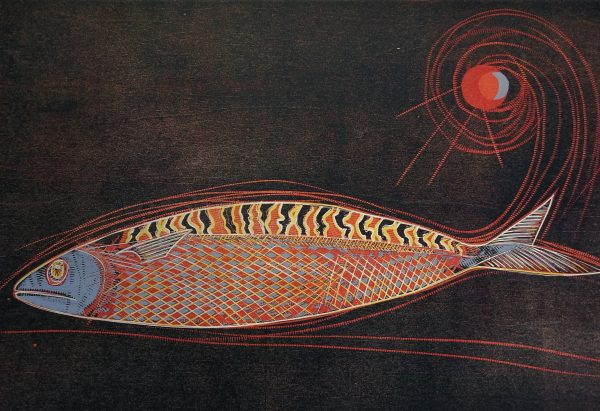 Jennifer Lane_Mackeral_Woodblock