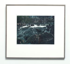 Graphic Studio Dublin • Louise Leonard: Graphic Studio Dublin: A river runs through it (SOLD)