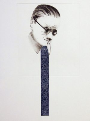 Graphic Studio Dublin •Micheal Farrell: Michael Farrell, I don't mind how you paint my soul but get my tie correct
