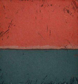 Graphic Studio Dublin •Michele Hetherington: Michele Hetherington_Polaroid series_ Sunset 17 42_etching