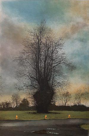 Graphic Studio Dublin •Robert Russell: Robert Russell_ No Parking_etching
