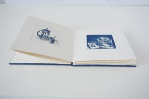 Ruth O'Donnell_ Blue Book_aquatint_artists book