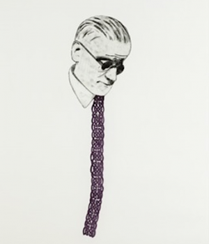 Graphic Studio Dublin •Micheal Farrell: Michael Farrell, I don't mind if you paint my soul wrong, just get my tie right