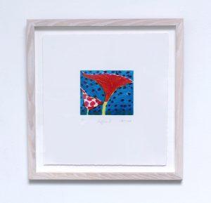 Graphic Studio Dublin: undefined BLOOM, Poppies III