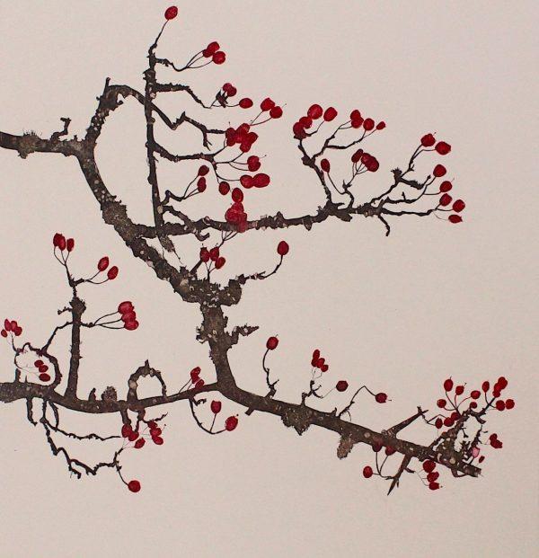 Graphic Studio Dublin: Wild Rose and Honeysuckle