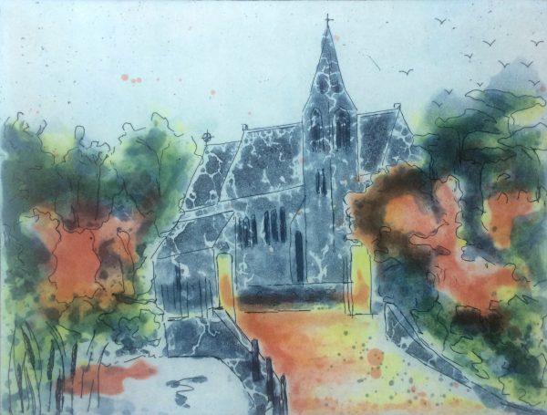 Graphic Studio Dublin: Holmpatrick Church