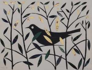 Graphic Studio Dublin: Summer Blackbird IV