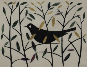 Graphic Studio Dublin • Ed Miliano: Graphic Studio Dublin: Summer Blackbird I