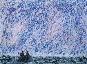 Graphic Studio Dublin •Daniel Lipstein: Graphic Studio Dublin: Rowers at Sea
