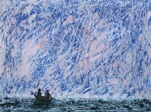 Graphic Studio Dublin: Rowers at Sea