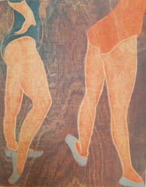 Graphic Studio Dublin •Jenny Lane: Two Dancing Daughters