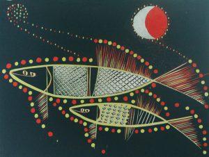 Graphic Studio Dublin •Jenny Lane: Graphic Studio Dublin: Moonfish