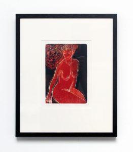 Jenny Lane, Red Nude