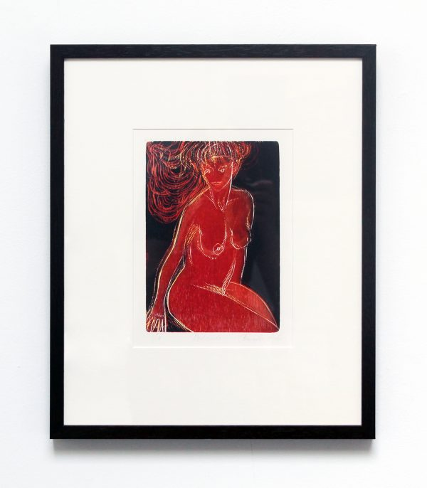 Graphic Studio Dublin: Jenny Lane, Red Nude
