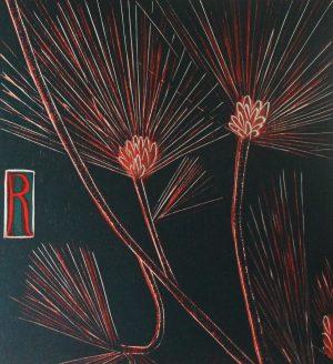 Graphic Studio Dublin •Jenny Lane: Graphic Studio Dublin: Red Pine III
