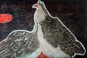 Graphic Studio Dublin •Jenny Lane: Sung Hen I