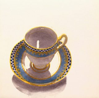 Ruth ODonnell, Blue Cup