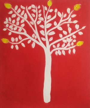 Graphic Studio Dublin • Cliona Doyle: Temple Tree 2