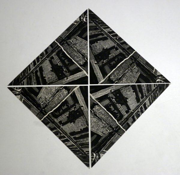 Graphic Studio Dublin: Fade to Grey (after Escher)