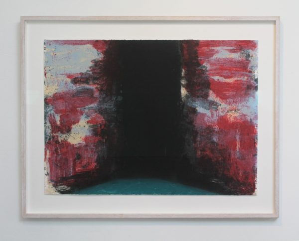 Graphic Studio Dublin: Gwen O'Dowd, Spaces 4 (antireflective glass)